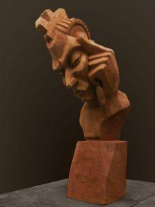 Contestataire, 2010 (argile)