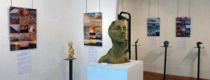 Exposition en sept 2016 à la galerie Algorithmes (Palaiseau)