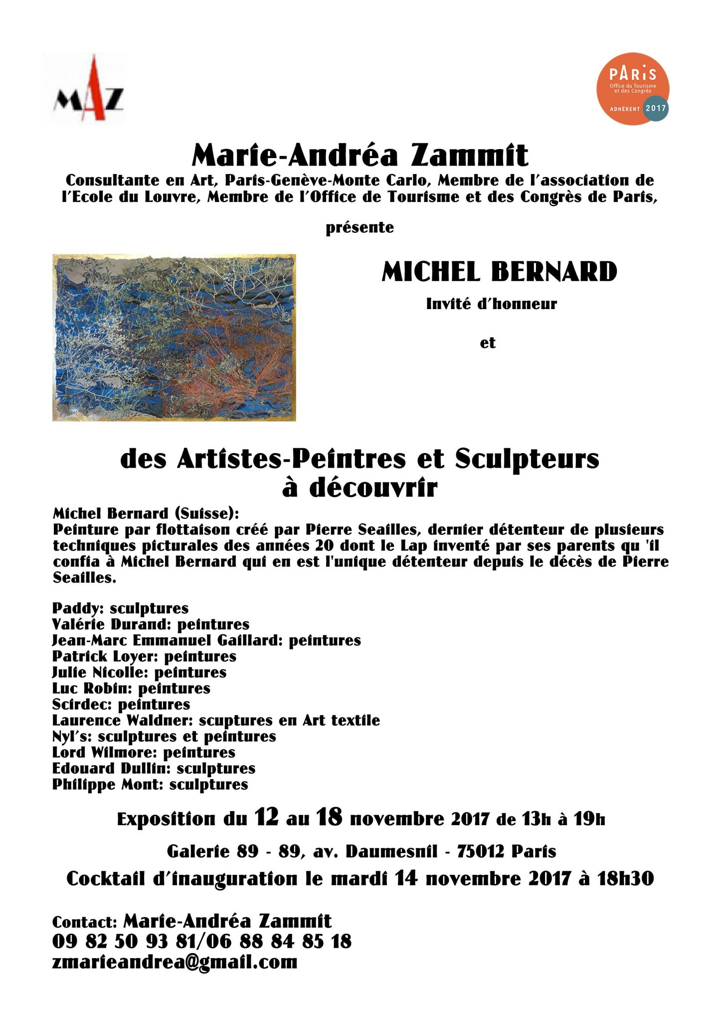 Affiche-MAZ-expo-galerie89-paris