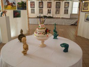 """10e Anniversaire de l'exposition """"Ombres et lumières"""" 2018"""