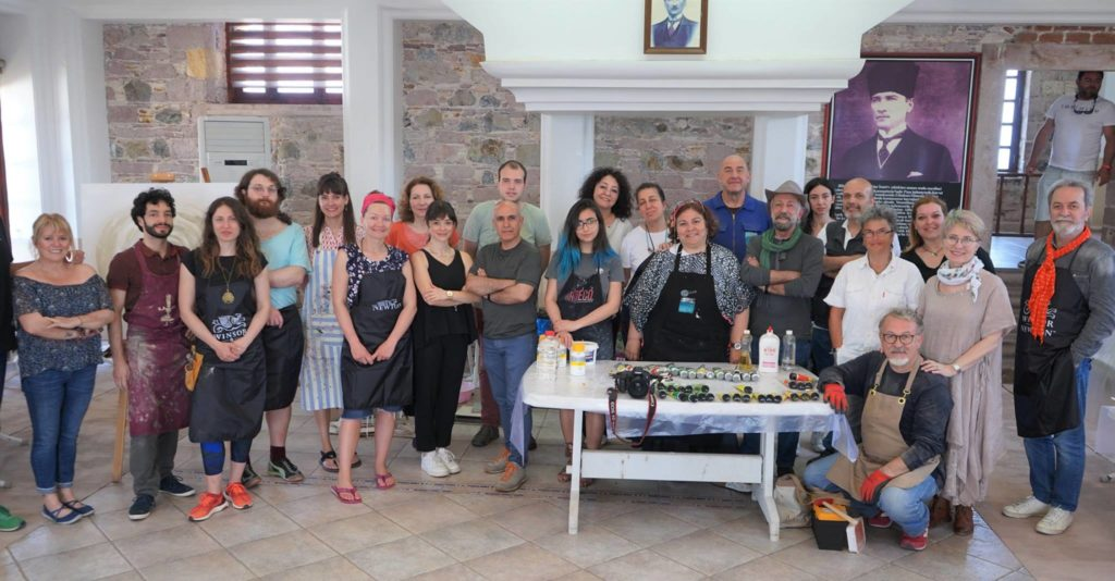 IV International Art Workshop à Ayvalık Cunda (Turquie)