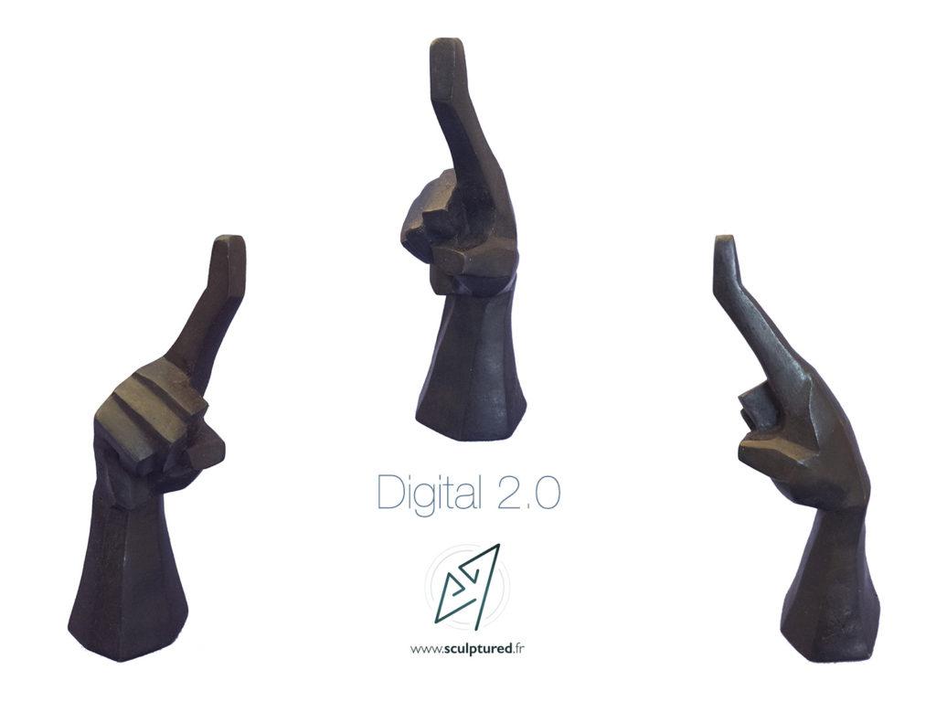 """Digital 2.0"" 2017 (bronze)"
