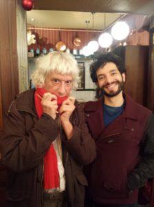 Avec Saülo Mercader
