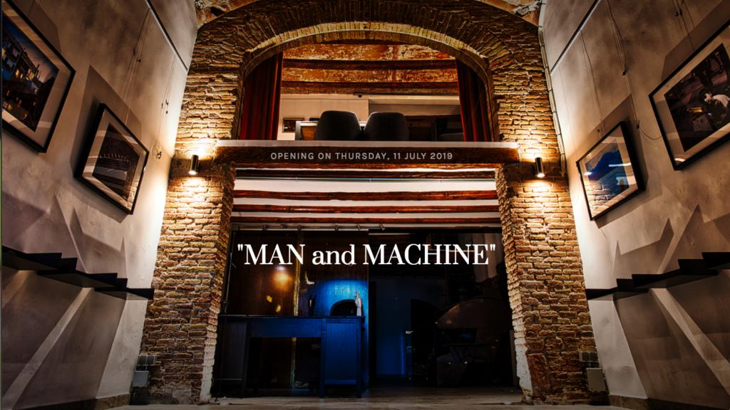 Gallery Ex Machina — Man and Machine