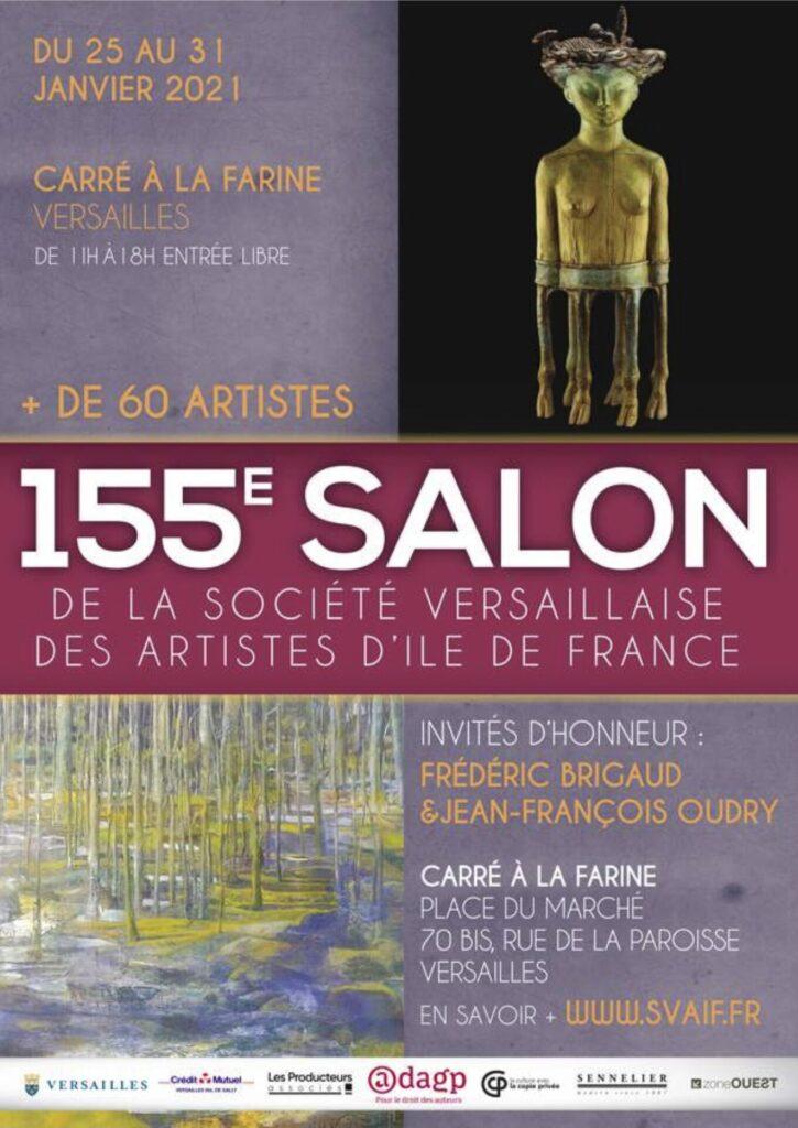 affiche 155e salon SVAIF Versailles