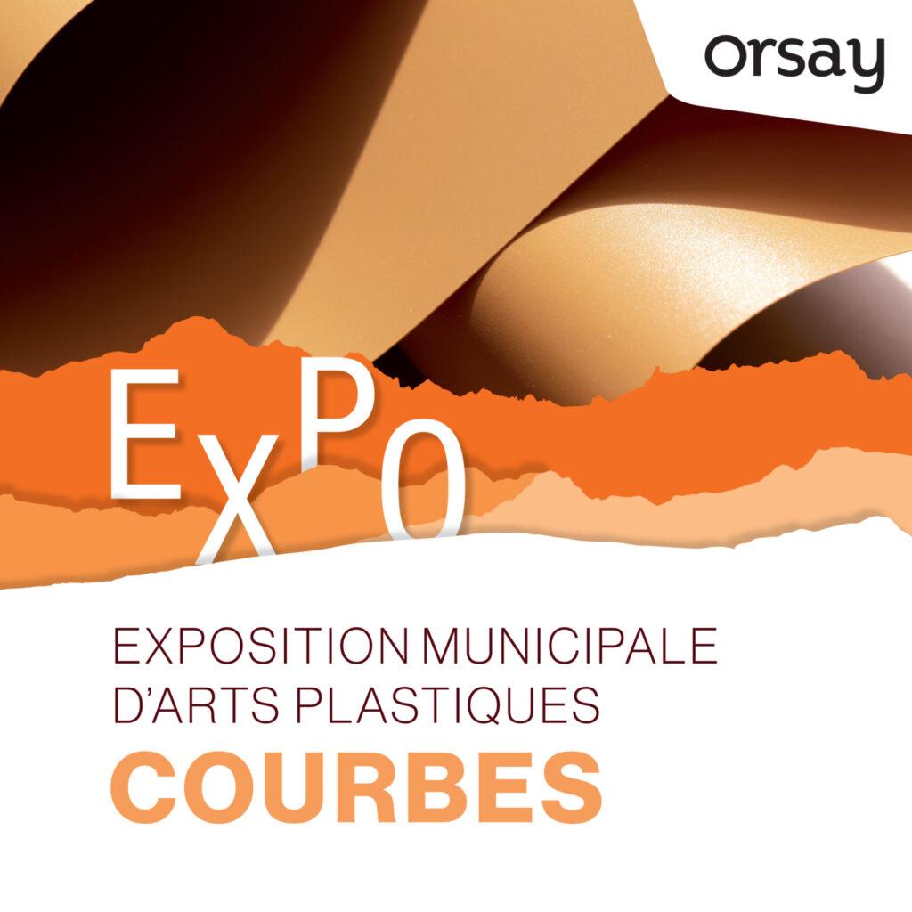 """Exposition """"Courbes"""" à la Bouvêche, Orsay"""