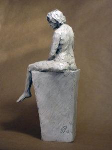 """Ève"" 2016 (argile patinée)"