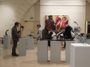 Installation de l'expo